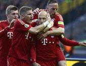 البايرن يواجه دورتموند فى كأس السوبر الألمانى