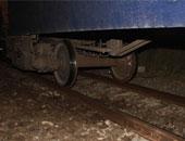 بتر ساق سائق توك توك ألقاه عامل وآخرون أمام قطار بكفر الشيخ