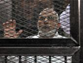 """رفع جلسة محاكمة الشاطر وبديع وقيادات الإخوان بـ""""أحداث الإرشاد"""" للقرار"""