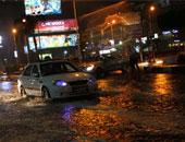توقف حركة الصيد والمرور بالمدن الساحلية بكفر الشيخ لسقوط أمطار غزيرة