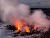 تحذير لسكان منطقة بهاواى لإخلاء منازلهم بسبب الحمم البركانية