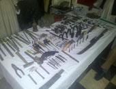 ضبط ورشة لتصنيع السلاح بداخلها 30 بندقية وطبنجة بالبحيرة