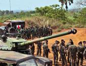 """فرنسا تعلن رسميا انتهاء مهمة """"سانجاريس"""" فى أفريقيا الوسطى"""