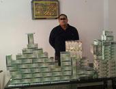 حبس تاجر مواد مخدرة بعد ضبط بحوزته أقراص ترامادول فى الوراق