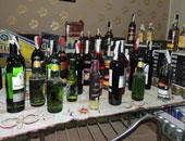 ضبط 370 زجاجة خمور بدون ترخيص فى حملة أمنية بالأقصر