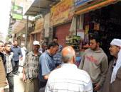 تحرير 103 قضية تموينية فى حملة أمنية بالجيزة