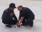 بلاغ سلبى بالاشتباه بجسم غريب أمام استراحة ضباط الشرطة بقنا