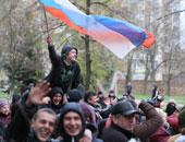 انفصاليون يحتلون المزيد من المبانى فى شرق أوكرانيا عشية الانتخابات