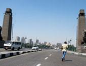 المرور: إغلاق جزئى لكوبرى قصر النيل مساء اليوم للصيانة 4 أيام