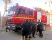 السيطرة على حريق مصنع الزيوت بالسويس ومنع امتداده للمصانع المجاورة