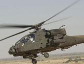 طائرات الأباتشى وإف 16 تقصف أهدافًا للجماعات الإرهابية بالشيخ زويد