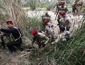 """مقتل 23 من """"داعش"""" وحرق 5 عجلات تابعة لهم فى شمالى بابل"""