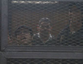 المستبعدون من قائمة المخلى سبيلهم بناء على قرار النائب العام.. علاء عبد الفتاح وأحمد دومة ومحمد عادل وأحمد ماهر.. والمحكوم عليهم فى قضايا حرق المجمع العلمى وأحداث مجلس الشورى ومظاهرة عابدين
