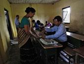 الناخبون فى كشمير يدلون بأصواتهم فى الانتخابات البرلمانية