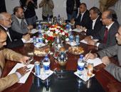 المجلس الوطنى الفلسطينى: انتهاء الجلسة الأولى للحوار بنجاح.. وشكرًا للسيسى