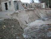 انهيار منزلين خاليين من السكان بمحافظة المنيا دون خسائر بشرية