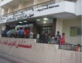 وصول أساتذة 4 جامعات لمستشفى العريش العام لتوفير الخدمة الطبية للأهالى