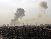 هجوم قرب مطار دمشق وقصف على ريفها