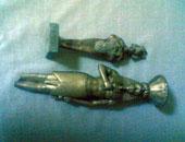 ضبط فلاح بحوزته 4 تماثيل أثرية بالدلنجات