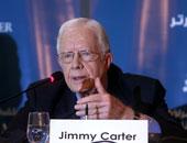 جيمى كارتر: حل القضية الفلسطينية هو أساس تحقيق سلام شامل بالمنطقة العربية