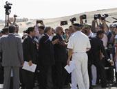 مشادات بين الأمن وصحفيين ومحامين قبل بدء محاكمة مبارك