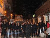 الأمن يقنع أهالى الوراق بفتح الطريق أمام كنيسة العذراء