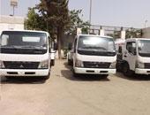 دعم مركز الشيخ زويد بسيناء بسيارات نقل مياه جديدة