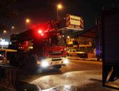 حريق فى غرفة كهرباء شركة محمول بمدينة نصر.. والحماية المدنية تخمده