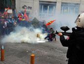 """الشرطة التركية تلقى القبض على 11 متظاهرا نددوا بحادث بلدة """"سوروج"""""""