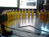 ضبط 300 زجاجة زيت مجهولة المصدر بالمنوفية