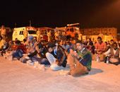 إحباط تسلل ١٠٨ أشخاص بينهم ٣ سودانيين إلى ليبيا عن طريق السلوم