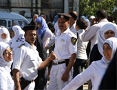 14لجنة لامتحانات الثانوية العامة ببورسعيد وشرطة نسائية لتأمين مدارس البنات