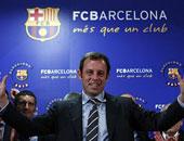 القضاء يبرئ ساندرو روسيل رئيس برشلونة السابق من قضية فساد