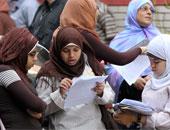 ضبط 5 حالات غش بامتحان اللغة الأجنبية الأولى الثانوية العامة دور ثان