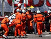 مقتل 6 واصابة 13 فى حادث بإحدى حلبات سباقات السيارات بإسبانيا