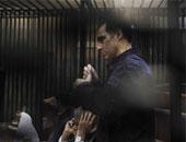 المحكمة تستمع لتعقيب جمال وعلاء مبارك عقب انتهاء المراسى