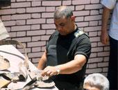 إصابة 4 من رجال الشرطة ومدنيين أثناء تفكيك عبوة ناسفة بالفيوم