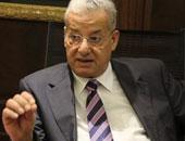 رئيس شركة المقاولون العرب يلتقى الفريق مميش خلال زيارة أنفاق قناة السويس