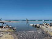 إغلاق شواطئ قطاع غزة لضخ مياه الصرف الصحى بسبب عدم توفر الوقود
