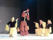 فرقة رضا تشارك فى عرض بانورامى للبيت الفنى للفنون الشعبية