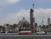 تجهيز ميادين النهضة وجزيرة العرب للاحتفال بذكرة 30 يونيو