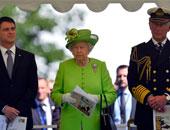 """بالفيديو..الاسكتلنديون يحتفلون بجلوس""""إليزابيث""""على العرش أطول فترة"""