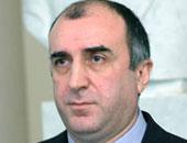 وزير خارجية أذربيجان: نبحث زيادة التعاون الاقتصادى مع مصر آخر نوفمبر