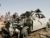 مقتل 2 وإصابة 14 عنصرا أمنيا جراء تفجير على طريق بغداد كركوك