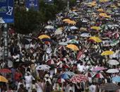 مظاهرات فى صنعاء وإب تندد بالإرهاب وتطالب بخروج الميليشيات المسلحة