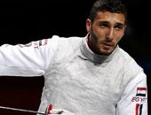 أولمبياد طوكيو.. أبو القاسم يواجه بطل ألمانيا فى دور الـ32 بمنافسات الشيش