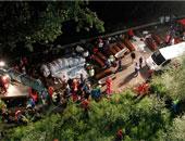 مصرع 13 شخصا جراء إنقلاب حافلة ركاب بتركيا