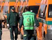 """وصول جثث ضحايا حادث """"الواحات"""" لمستشفى دار الفؤاد بأكتوبر"""