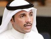 رئيس مجلس الأمة الكويتى يصل إلى مطار القاهرة الدولى