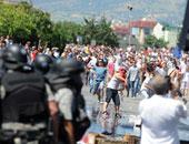 ألبانيا تندد بإحراق علمها خلال مباراة لكرة القدم فى صربيا